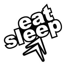 EAT SLEEP CITROEN 001