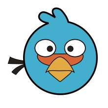 ANGRY BIRDS BLUE 001