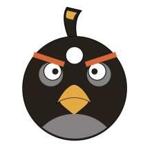 ANGRY BIRDS BOMB 001