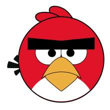 ANGRY BIRDS RED 001