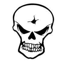 TETE DE MORT SKULL 016