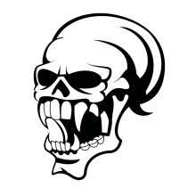 TETE DE MORT SKULL 019