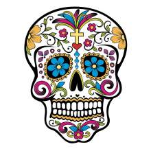 CALAVERA SKULL MEXIQUE 002