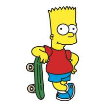 BART SIMPSONS 001